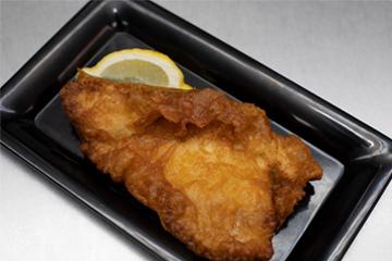Backfisch zum Mittagstisch in Wesseling