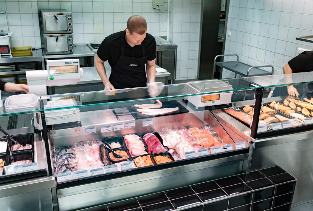 Fangfrischer Fisch & Meeresfrüchte
