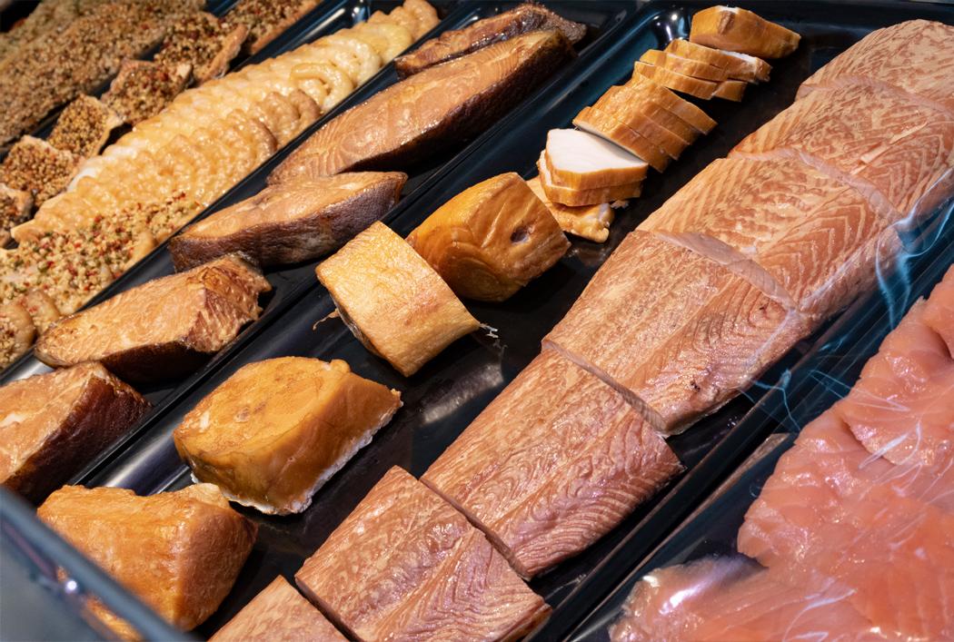 Räucherfisch aus eigener Räucherei